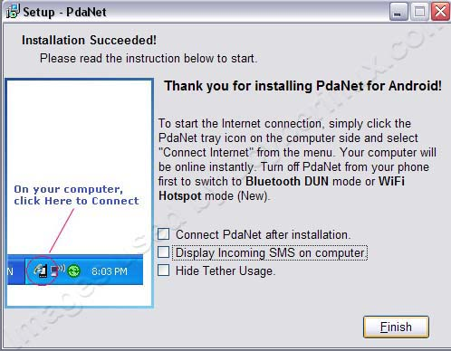 Install and Use PdaNet by Jcyberinux