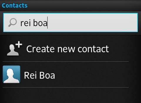 Setting a Contact Picture on Android Smartphone