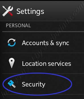 How to Disable and Enable Device Administrator in Sony Xperia Sola Android ICS