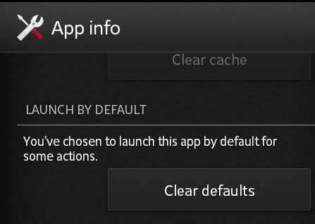 How to change or set to Default Launcher or GO Launcher EX on Android OS