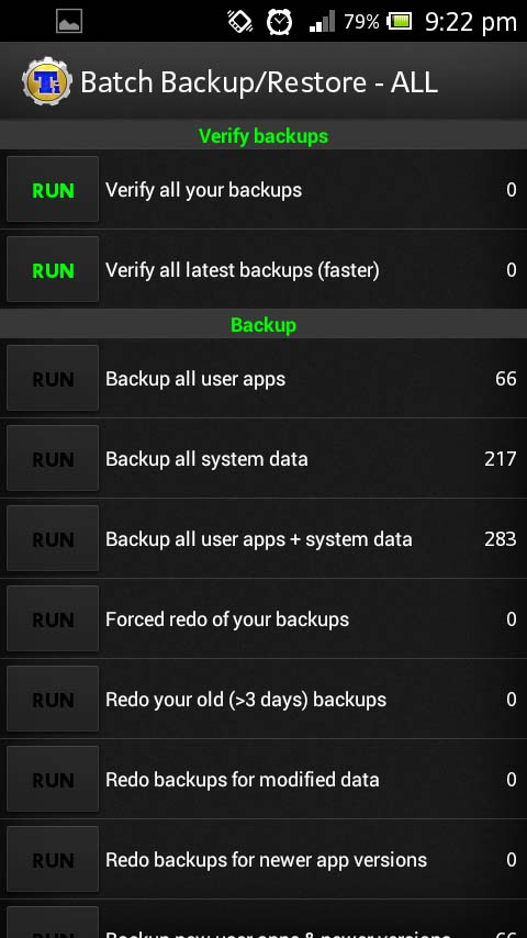 Titanium Backup Pro Key (root) for Android Devices