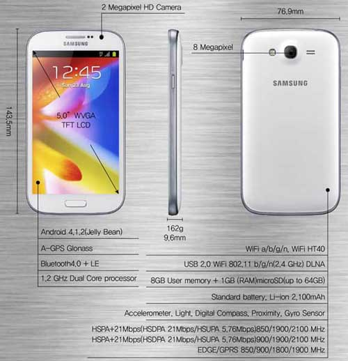 Samsung Galaxy Grand by Jcyberinux