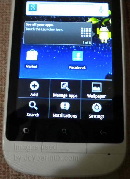 ALCATEL ONE TOUCH GLORY OT-918N by Jcyberinux