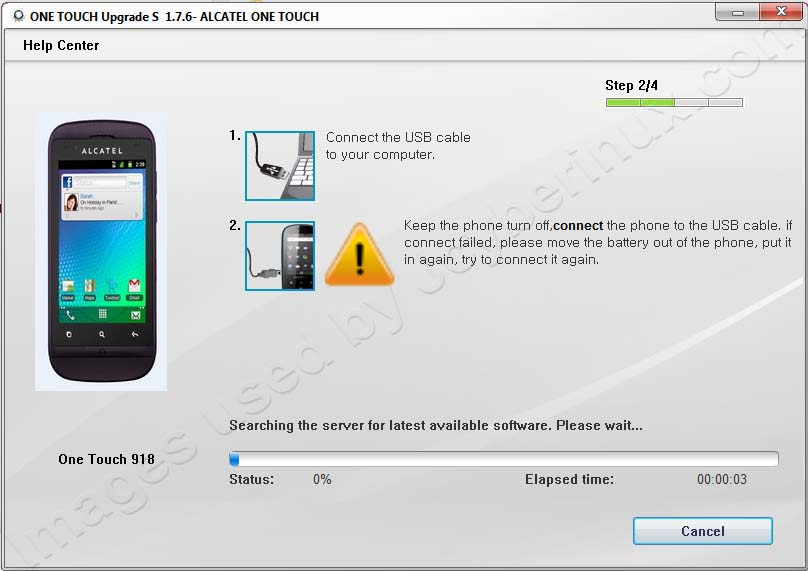 ALCATEL ONE TOUCH UPGRADE by Jcyberinux
