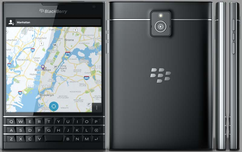 BlackBerry Passport, QWERTY Keyboard plus Touch screen for ...