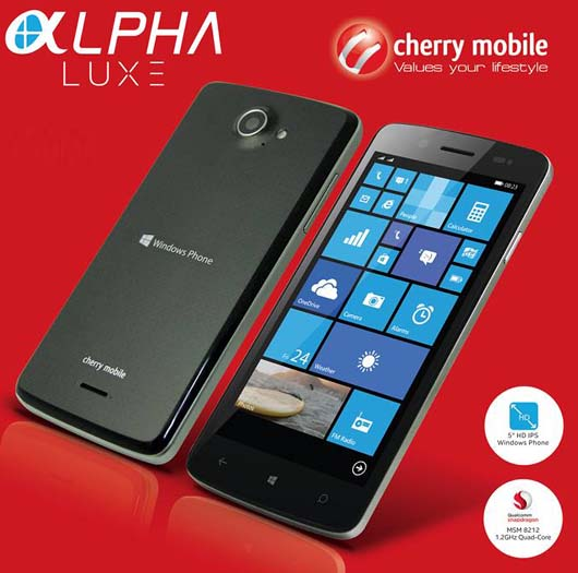 Cherry Mobile Alpha Luxe