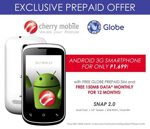 Cherry Mobile Snap 2.0