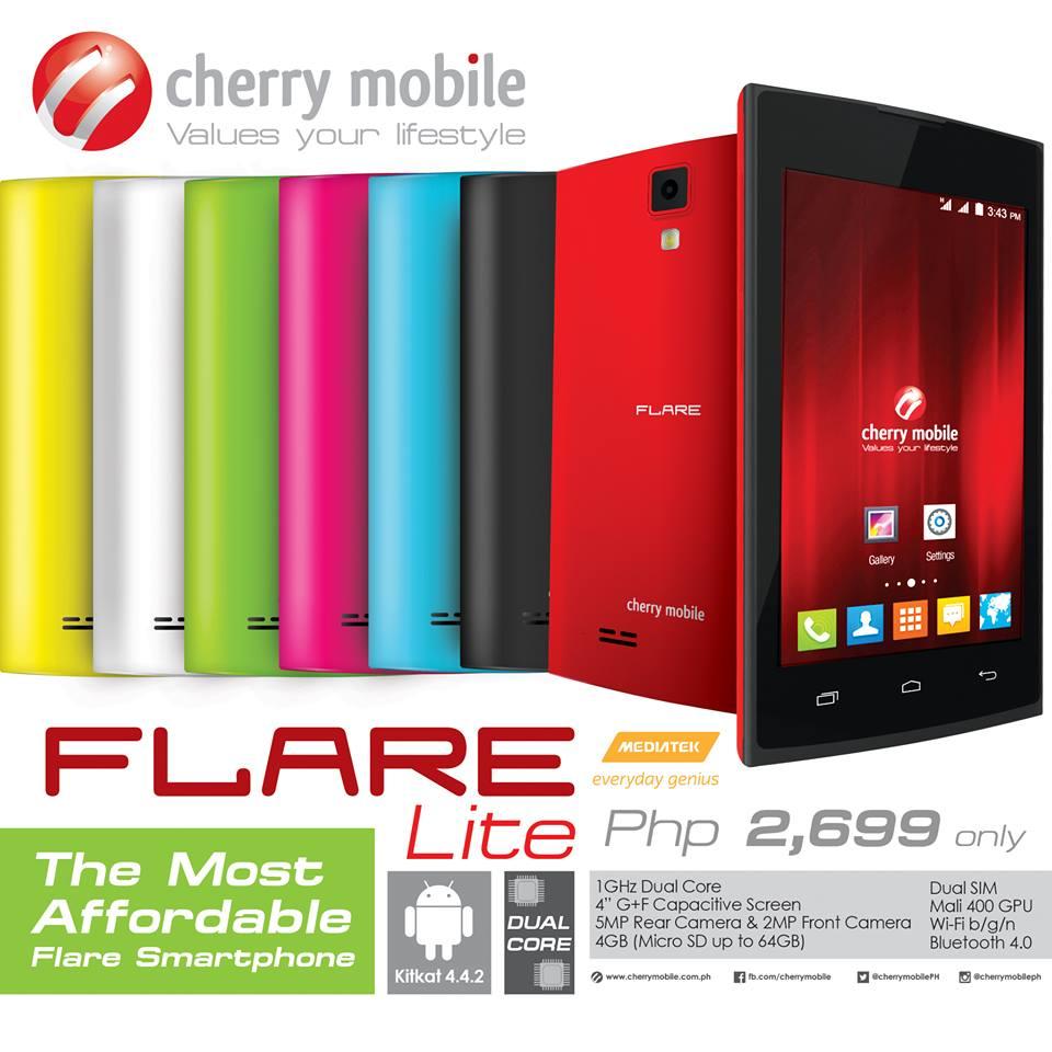 Cherry Mobile Flare Lite