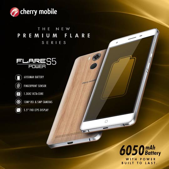 Cherry Mobile S5 Power
