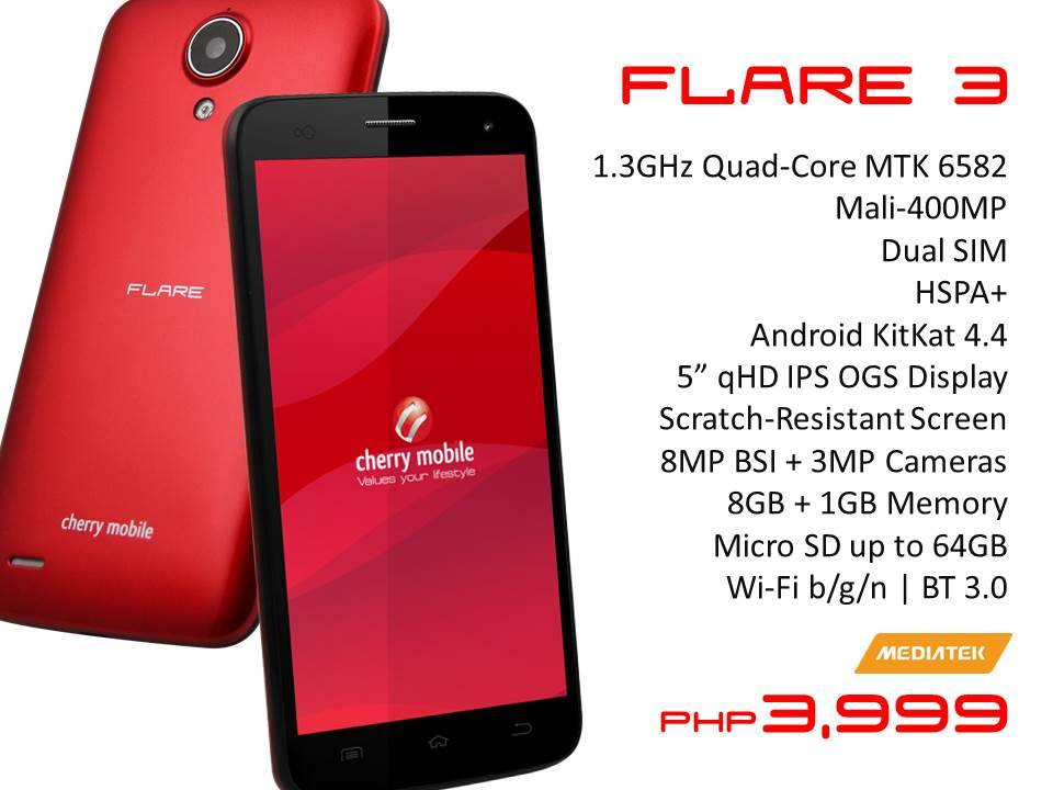 Cherry Mobile Flare 3