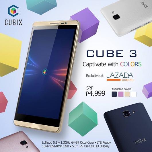 Cherry Mobile Cubix Cube 3