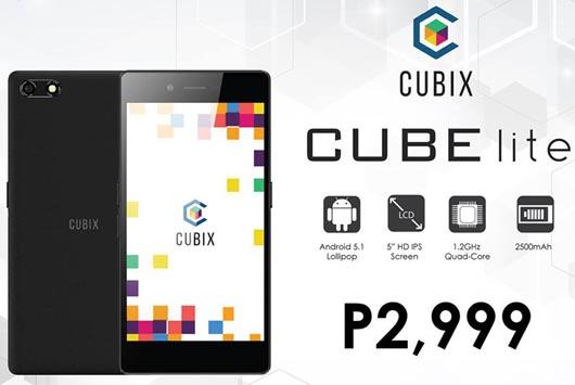 Cherry Mobile Cubix Cube Lite