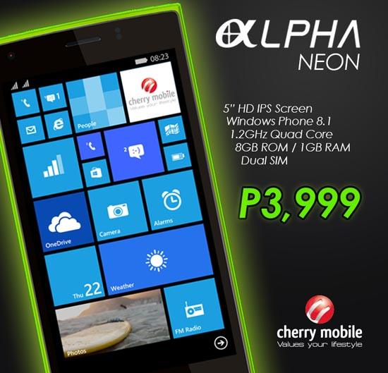 Cherry Mobile Alpha Neon