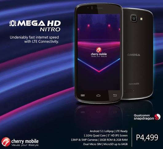 Cherry Mobile Omega HD Nitro