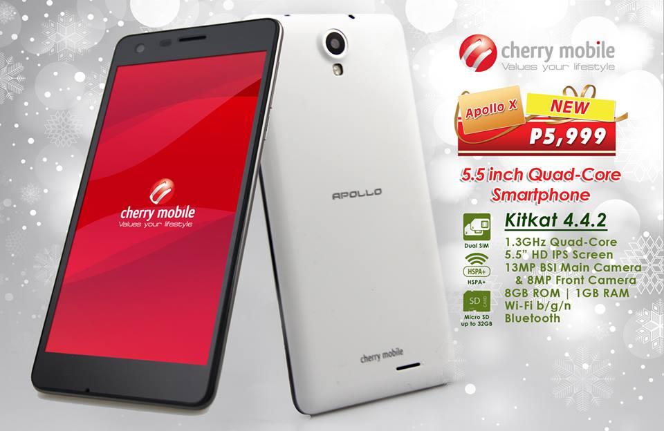 Cherry Mobile Apollo X