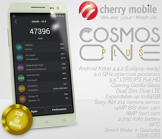 Cherry Mobile Cosmos One Plus