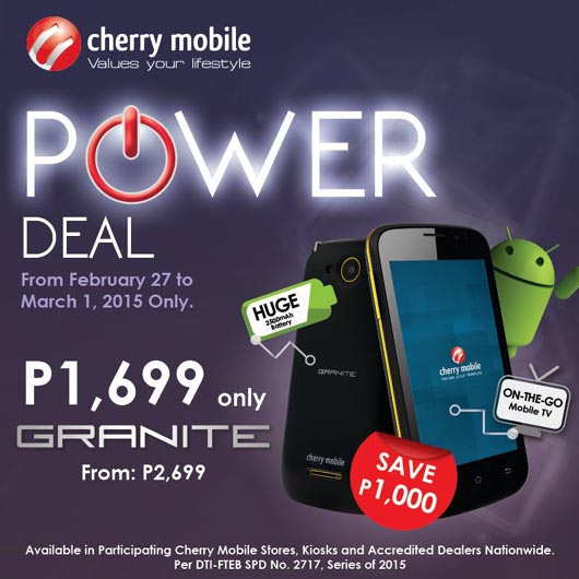 Cherry Mobile Granite