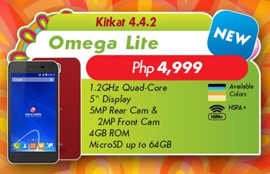 Cherry Mobile Omega Lite