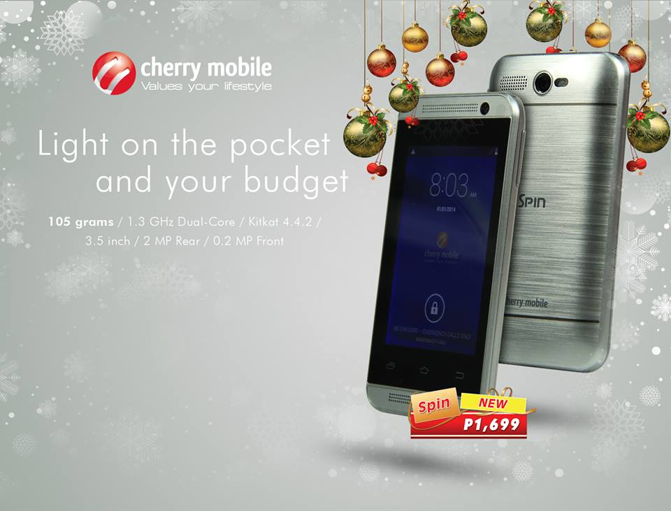 Cherry Mobile Spin