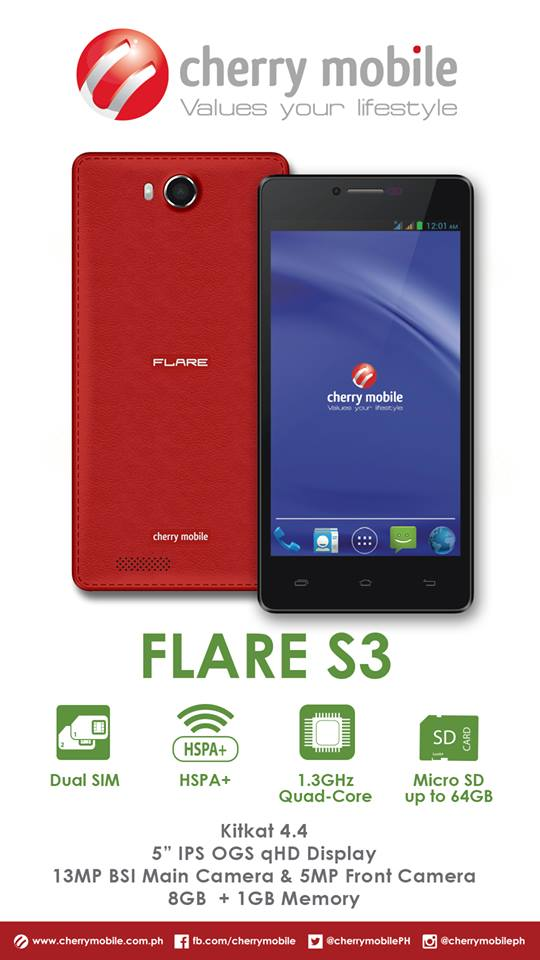 Cherry Mobile Flare S3