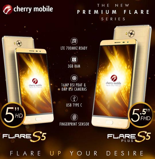 low priced 2ea81 d3b48 Cherry Mobile Flare S5 and S5 Plus, at P5699 and P8999 respectively ...