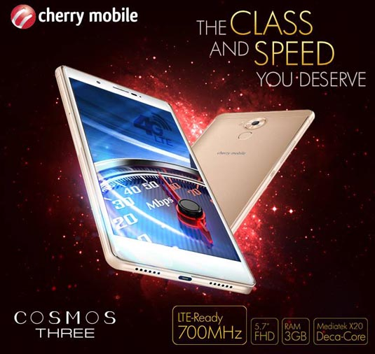 Cherry Mobile Cosmos Three