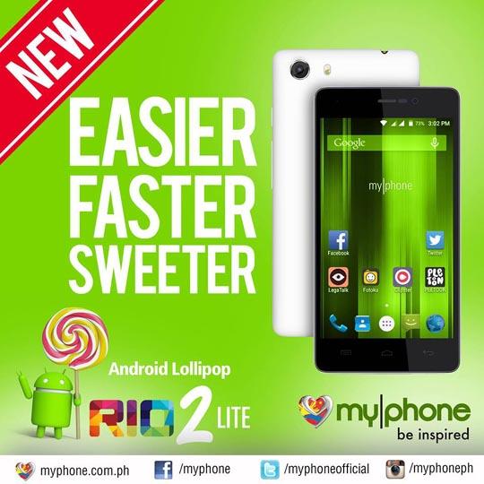 MyPhone Agua Rio Lite