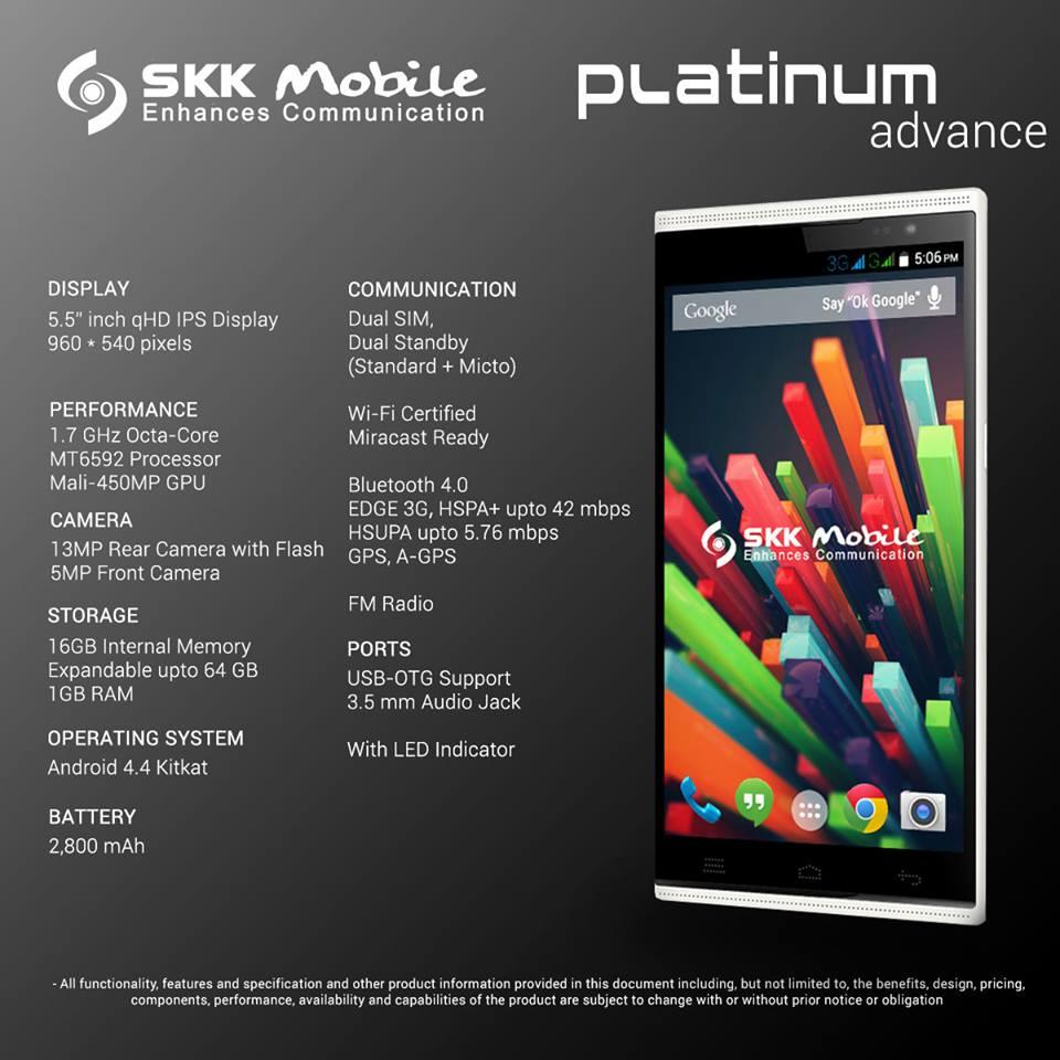 SKK Mobile Platinum Advance