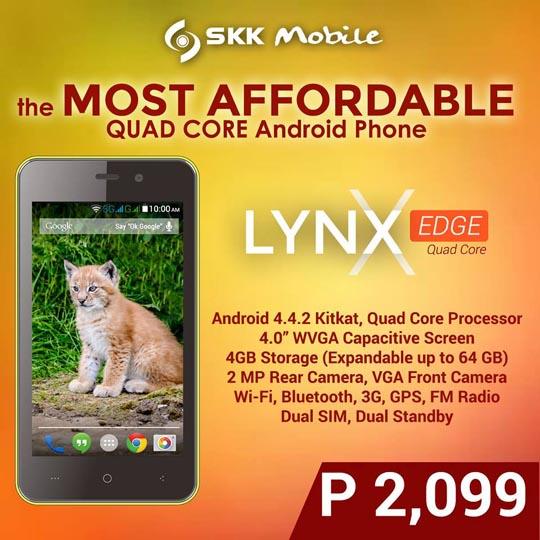 SKK Mobile Lynx Edge