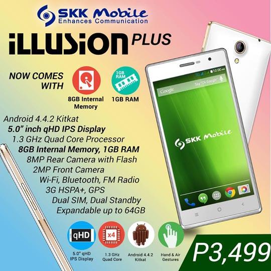 SKK Mobile Illusion Plus