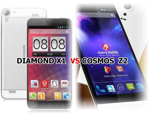 Starmobile Diamond X1 versus Cherry Mobile Cosmos Z2