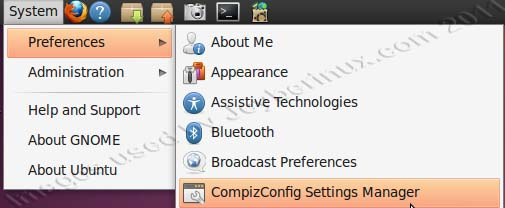 How to used Advanced Compiz Config Settings Manager to become Ubuntu 3D Desktop or Ubuntu Desktop Cube Effects
