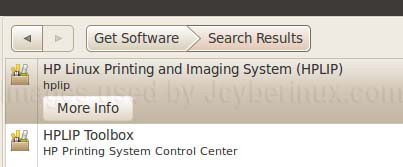 Install HPLIP HP Linux Printer Imaging Driver in Ubuntu