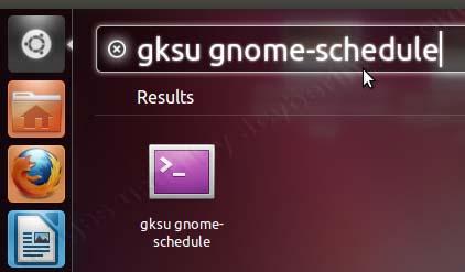 Automatic Shutdown on Ubuntu Unity via Scheduled Tasks