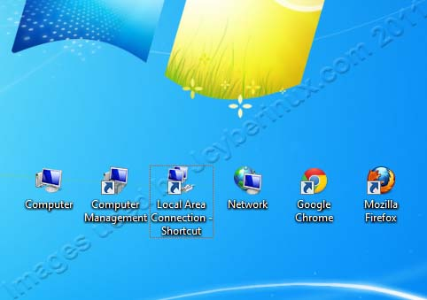 Change the Desktop Icon Size on Windows 7 | Jcyberinux