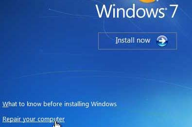 windows 7 won t startup or startup repair can t fix