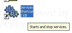 Error message Unable to read from or write to database while updating Windows XP Service Pack
