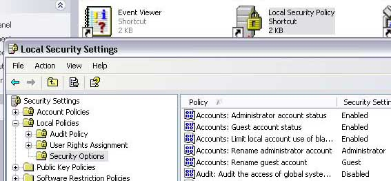 Enable/Unhide Administrator Account on Windows XP Logon