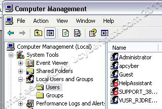 How to Disable Administrator Account on Windows XP Pro by Jcyberinux