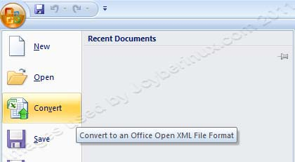 How to Convert Old MS Office - Excel/Word 2003 files to MS Office 2007