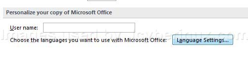 How to Choose Language Settings on Microsoft Office 2007