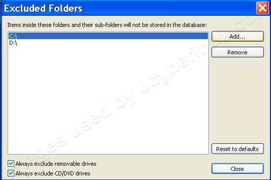 Disable Catalog and Database Thumbnails on ACDSee by Jcyberinux
