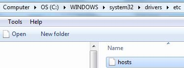 How to Block websites via hosts file on Windows