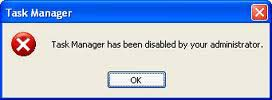 Enable or Disable Windows Task Manager