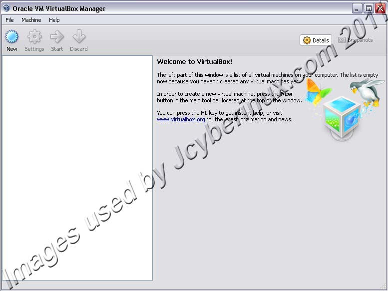 How to Install VirtualBox – Free Virtualization Software by Jcyberinux