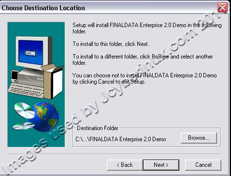 FinalData Enterprise Demo used by Jcyberinux