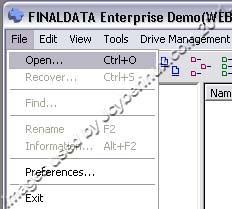 FinalData Enterprise Demo used by Jcyberinux