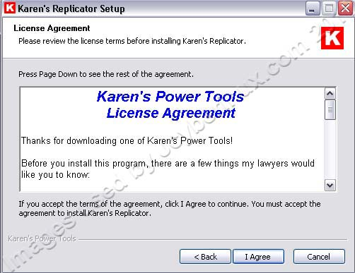 Karen's Power Tools - Replicator v3.6.8 - A Free Backup Software - used by Jcyberinux