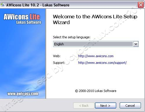 AWicons Lite - An ICON  Maker, Editor and Creator by Jcyberinux
