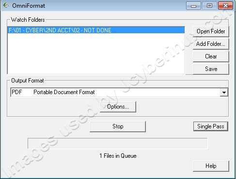 OmniFormat PDF Conversion used by Jcyberinux